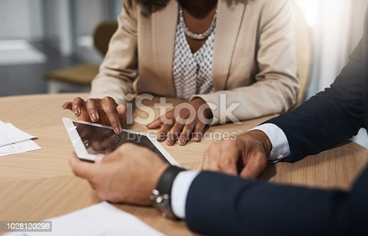 istock Managing business operations for the day 1028120298