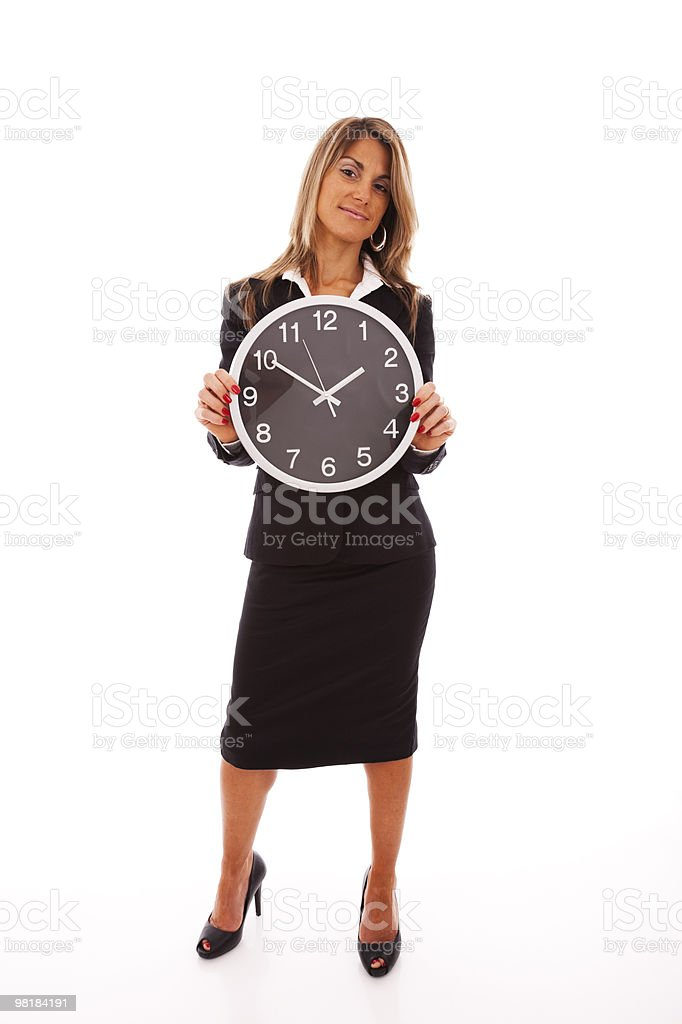 managing business time royalty-free stock photo