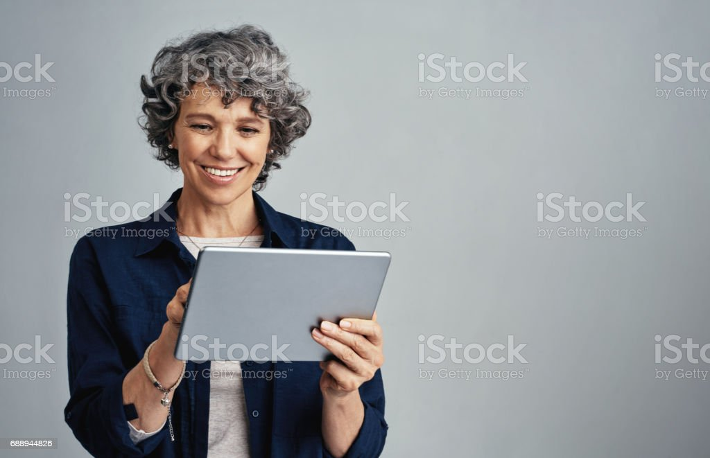 Managing daily life the smart way stock photo