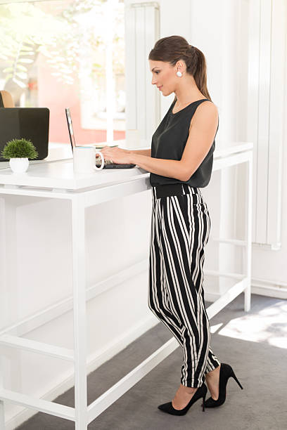 Secretary In High Heels Stock Photos, Pictures & Royalty