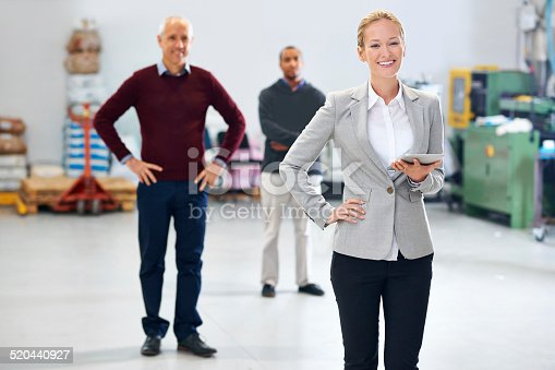 915900234istockphoto Managing the factory with great skill 520440927