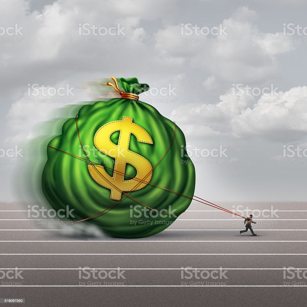 Managing Wealth Business Concept stock photo
