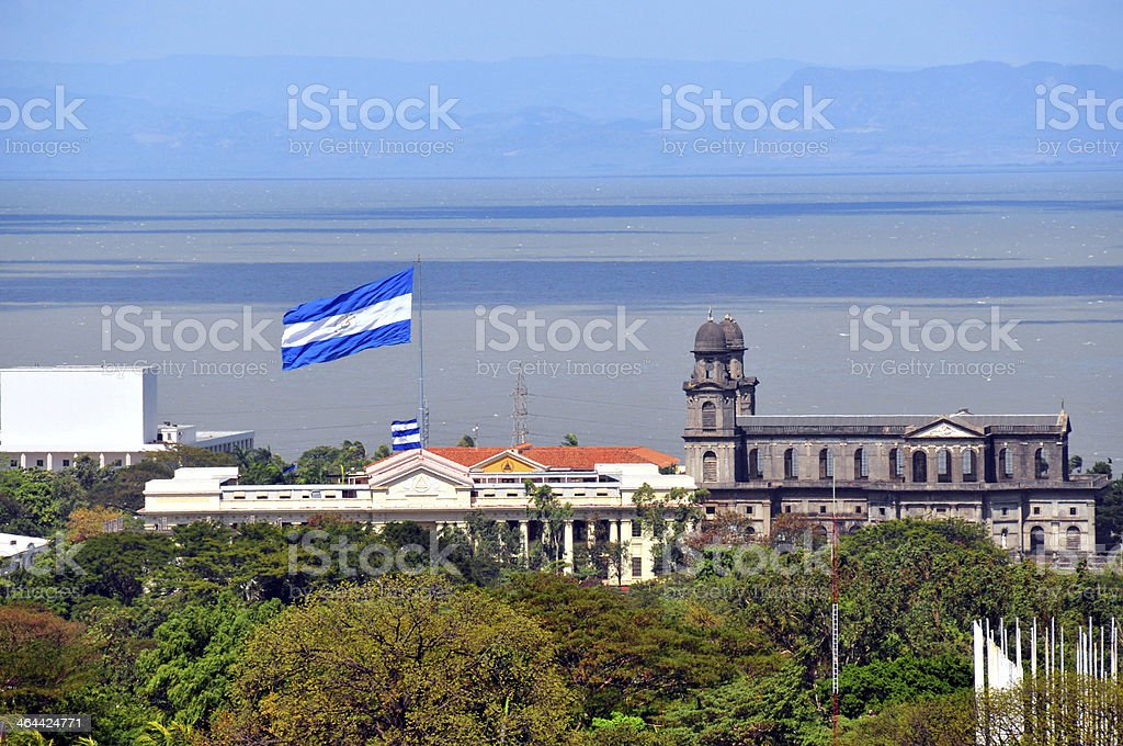 Managua, Nicaragua: La ciudad antigua - foto de stock