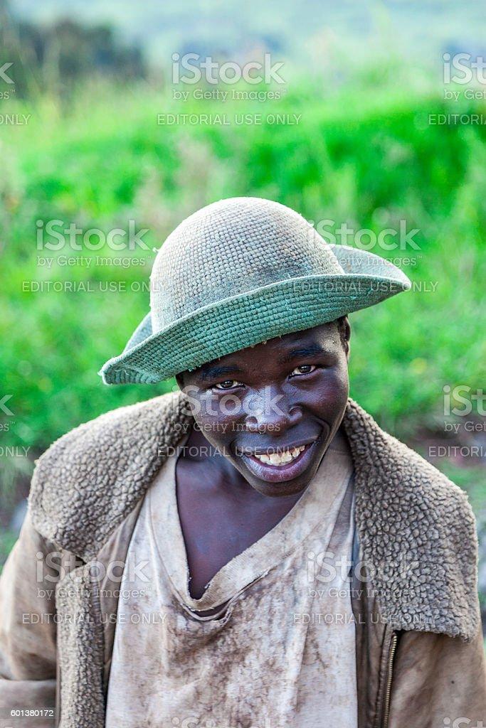 Man'Alisa in Rwanda stock photo