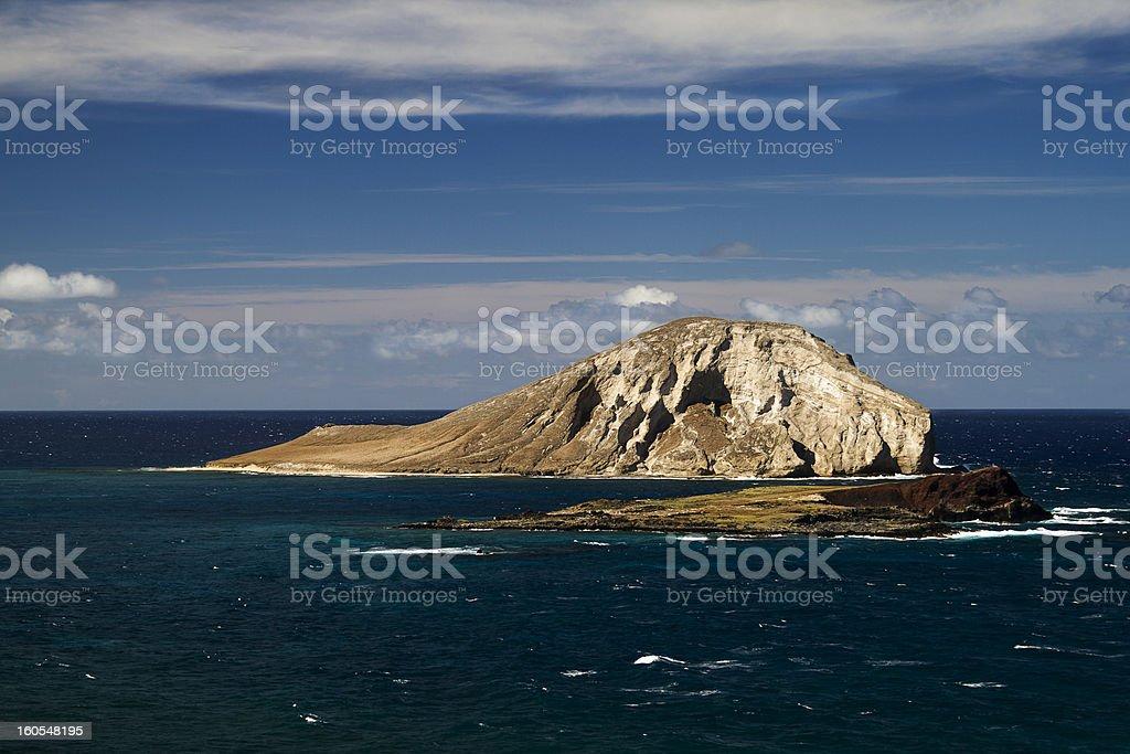 Manana island royalty-free stock photo