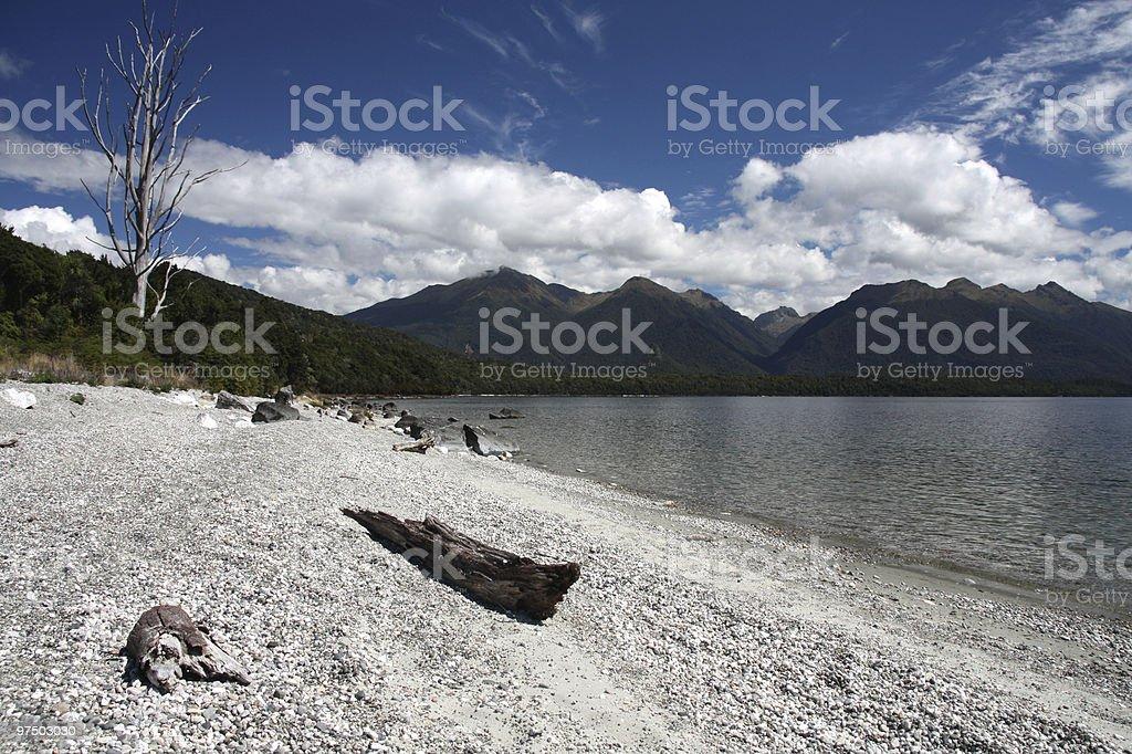 Manapouri royalty-free stock photo