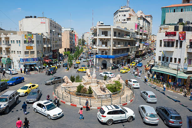 Central Ramallah, West Bank – Foto