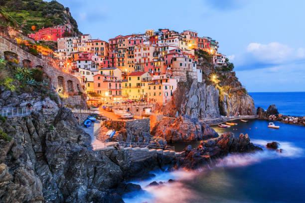 Manarola, Cinque Terre, Italien. – Foto
