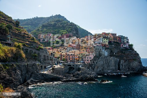 Manarola is a beautiful small town in the province of La Spezia, Liguria, north of Italy and one of the five Cinque terre travel attractions to tourists
