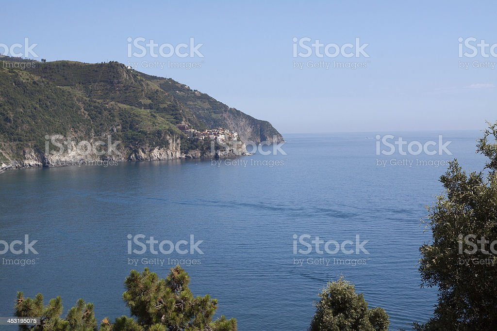 Manarola, Cinqueterre - Liguria Italy stock photo