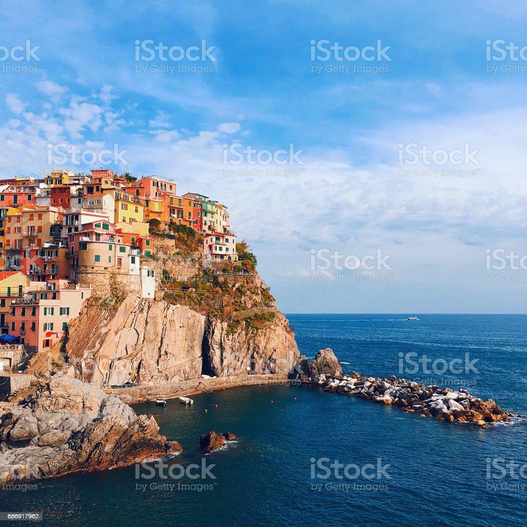 Manarola, Italy stock photo