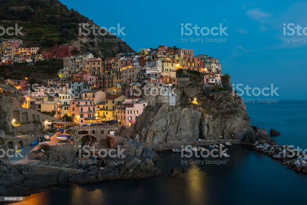Manarola, Italy stock photo