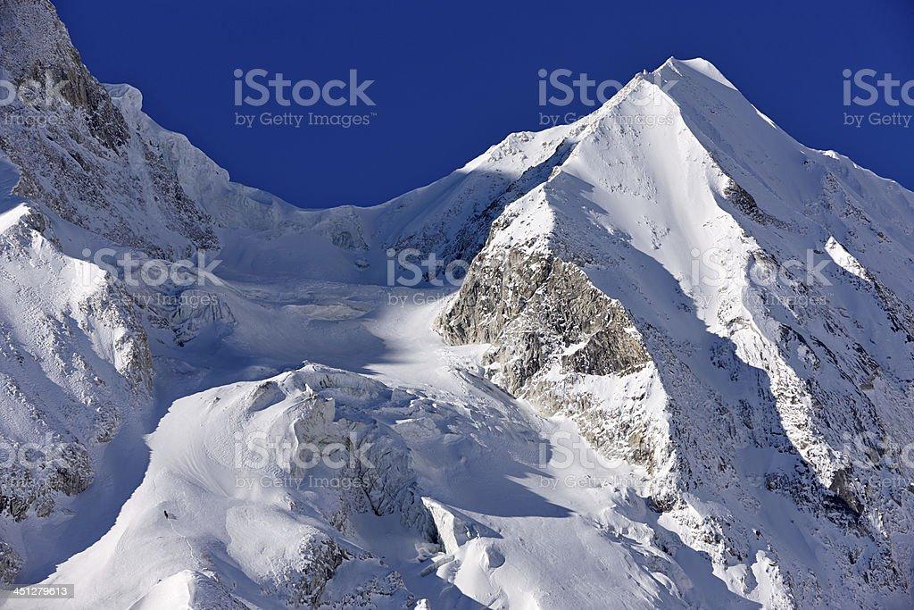 Manaslu. Everest Circuit. Nepal motives. royalty-free stock photo
