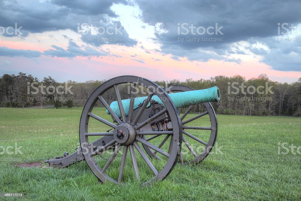 Manassas Battlefield stock photo