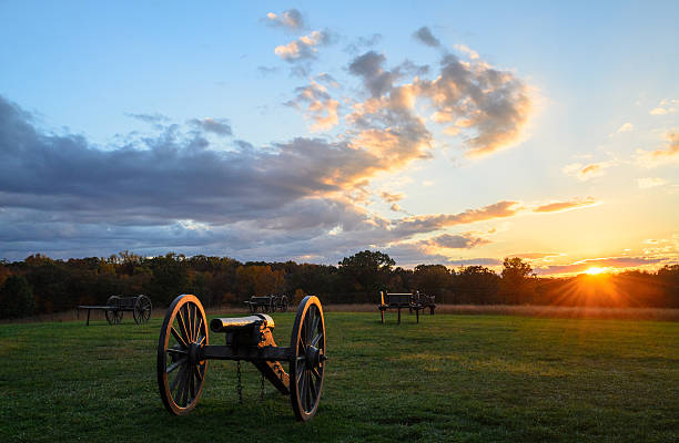 Manassas National Battlefield Park stock photo