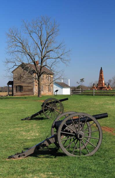 manassas national battlefield park - civil war stock photos and pictures