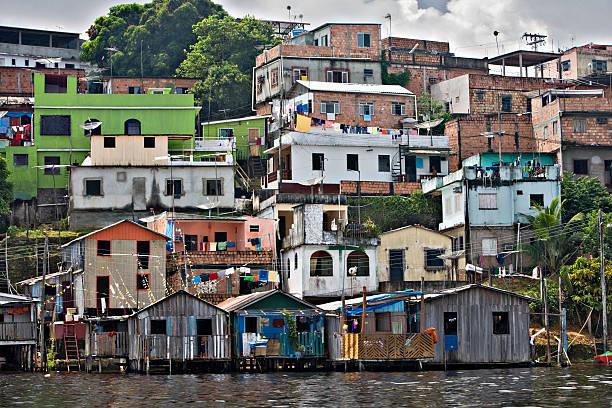 Manaus City Dwellings stock photo