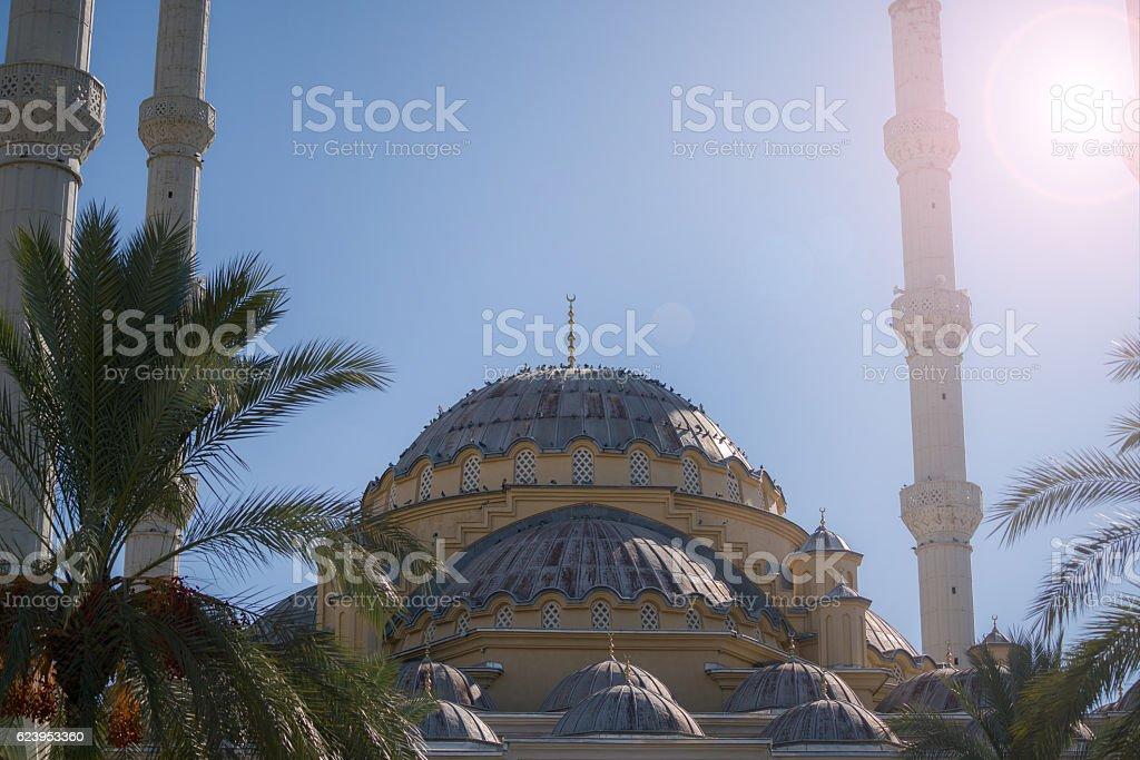 manavgat külliye mosque stock photo