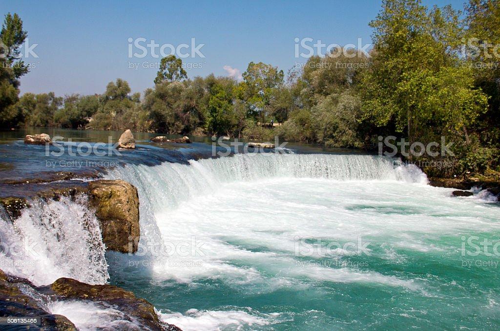 Manavgat Waterfall stok fotoğrafı