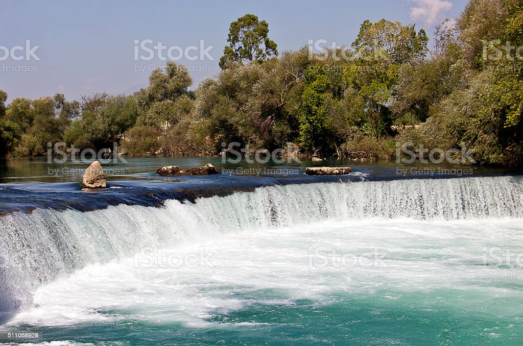 Manavgat Waterfall stock photo