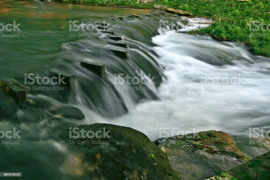 Manavgat waterfall royalty-free stock photo