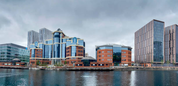 Manchester Architecture stock photo