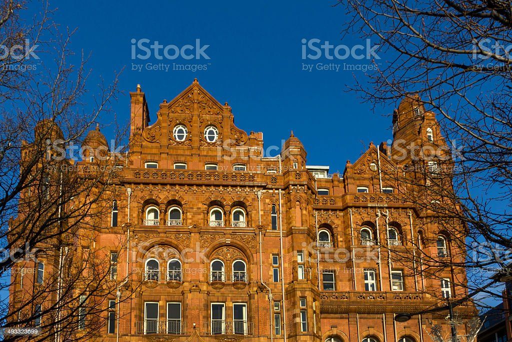 Manchester Architecture royalty-free stock photo