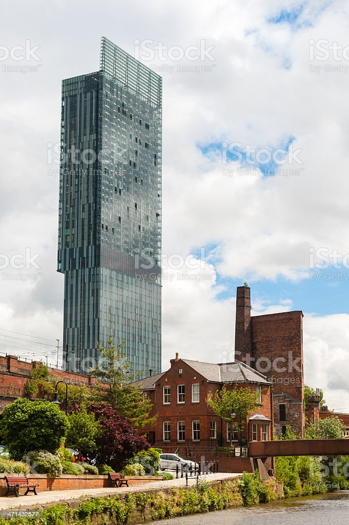 Manchester Canals royalty-free stock photo