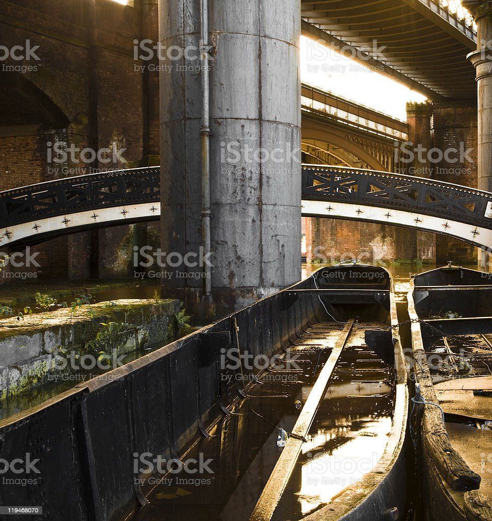 Manchester, Castlefield royalty-free stock photo
