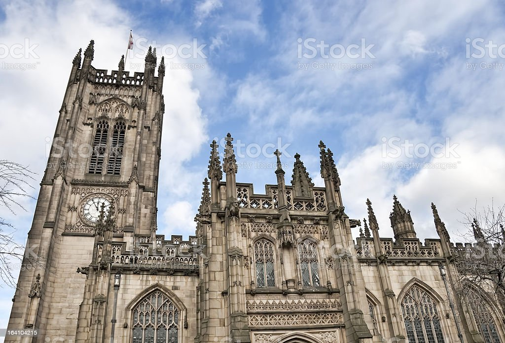 Manchester Cathedral uk. royalty-free stock photo