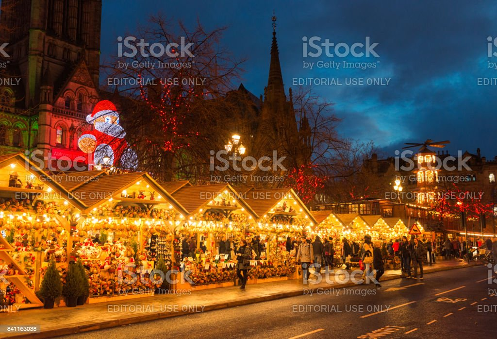 Manchester Christmas Markets stock photo