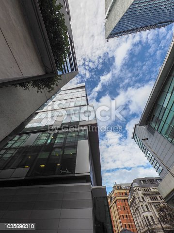 Glass buildings in Manchester City centre