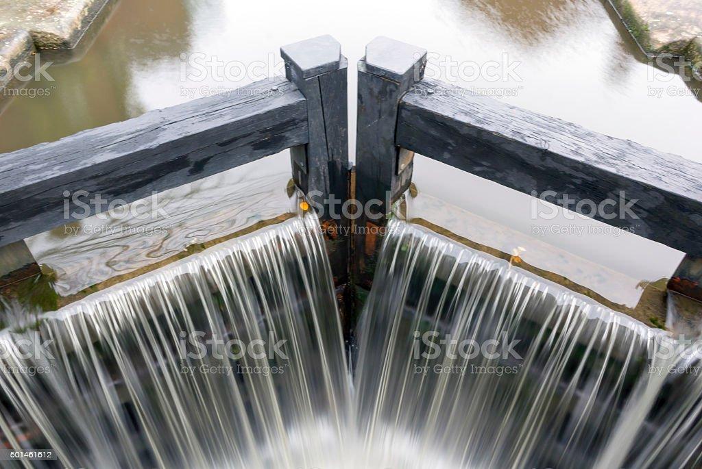 Manchester Locks stock photo
