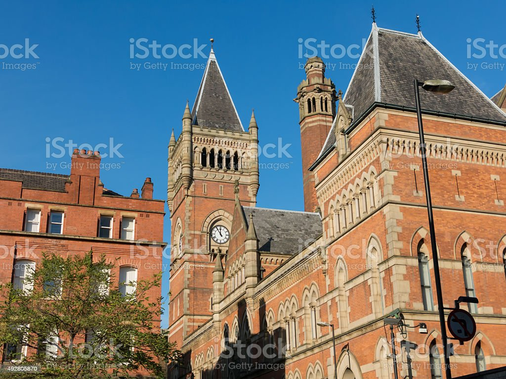 Manchester Minshull Crown Court, England stock photo
