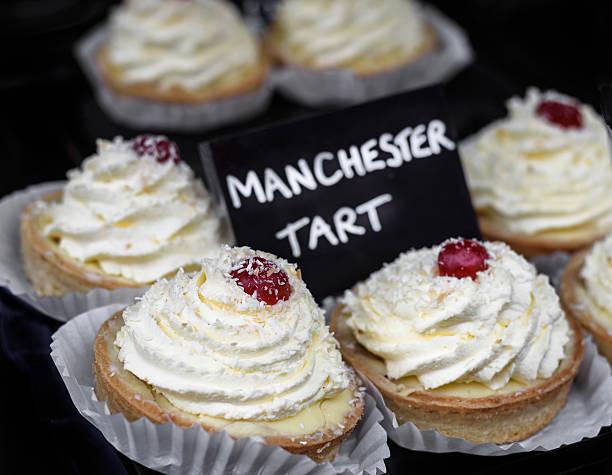Manchester Tarts. stock photo
