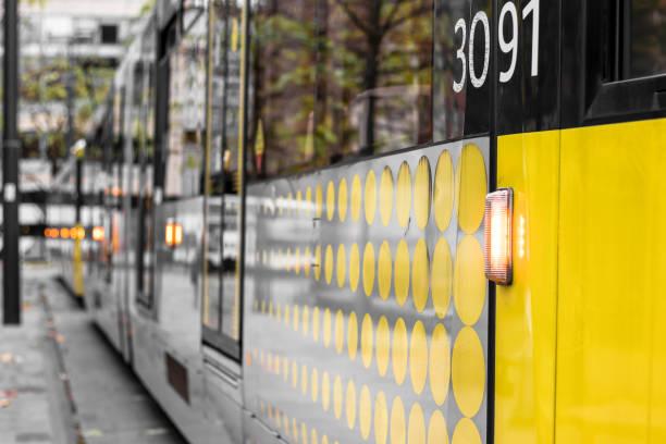 Manchester Tram stock photo