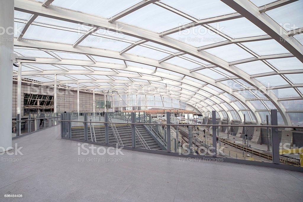 Manchester Victoria Train Station. stock photo