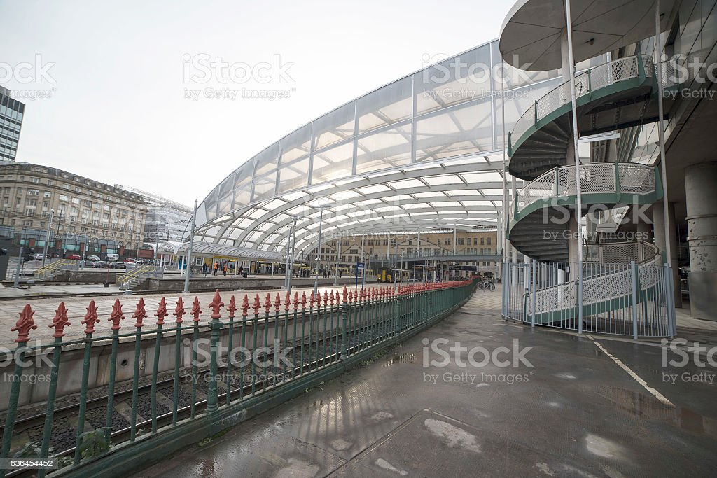 Manchester Victoria Train Station stock photo