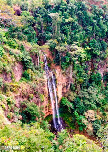 istock Manchewe Falls viewpoint - Long waterfall 158794054