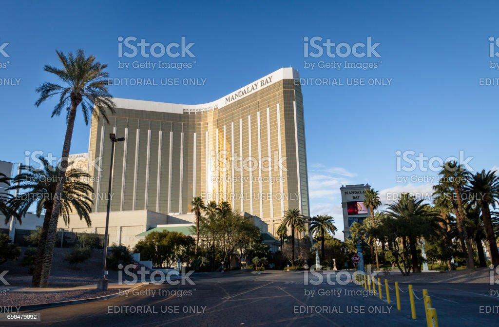 Mandalay Bay Hotel and Casino - Las Vegas, Nevada, USA stock photo