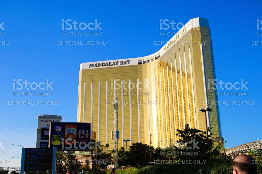 Mandalay Bay in Las Vegas. stock photo