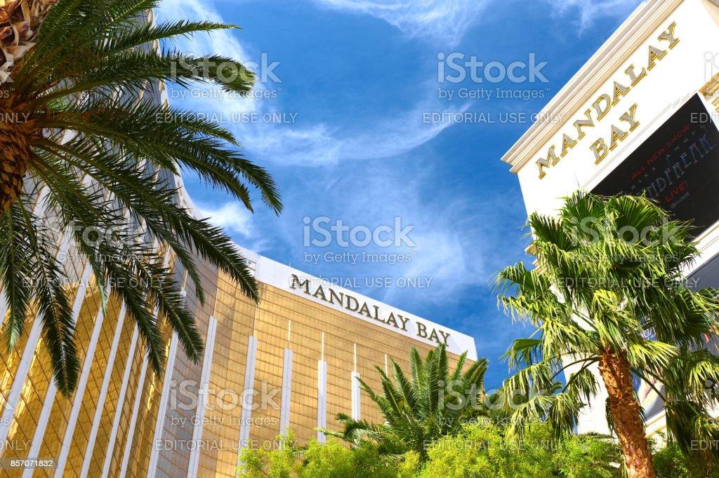 Mandalay Bay stock photo
