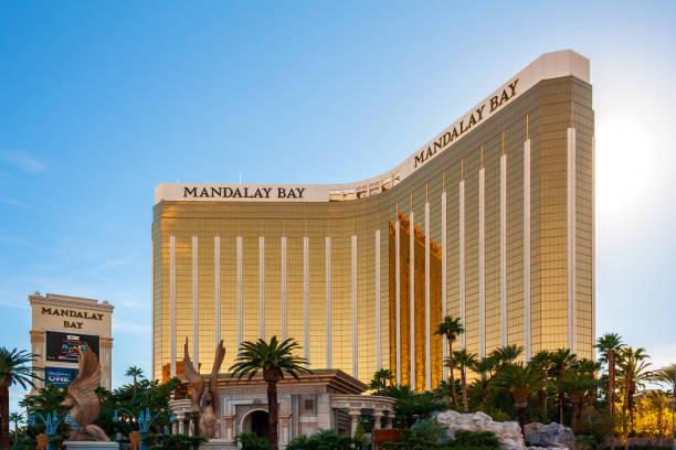 Mandalay Bay Resort and Casino stock photo
