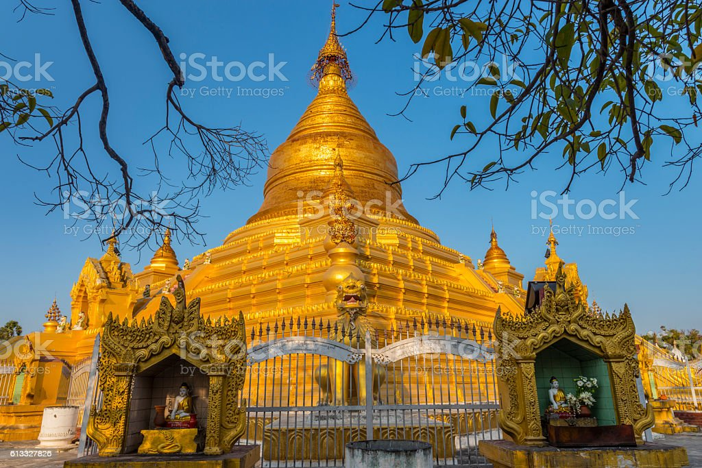 Mandalay, Myanmar. stock photo