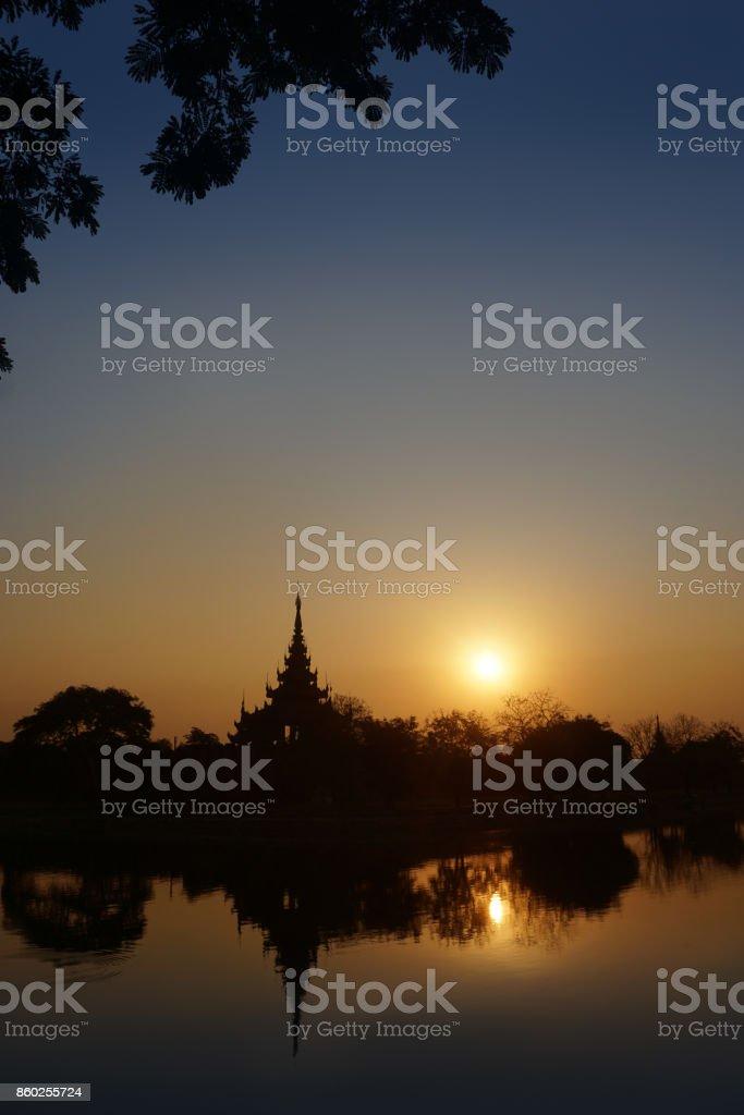 Mandalay Myanmar stock photo