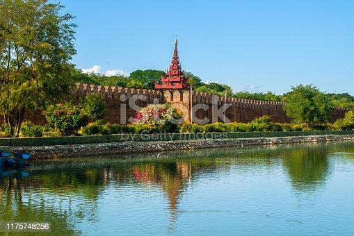 Mandalay Palace, the last royal palace of the last Burmese monarchy, Mandalay, Myanmar