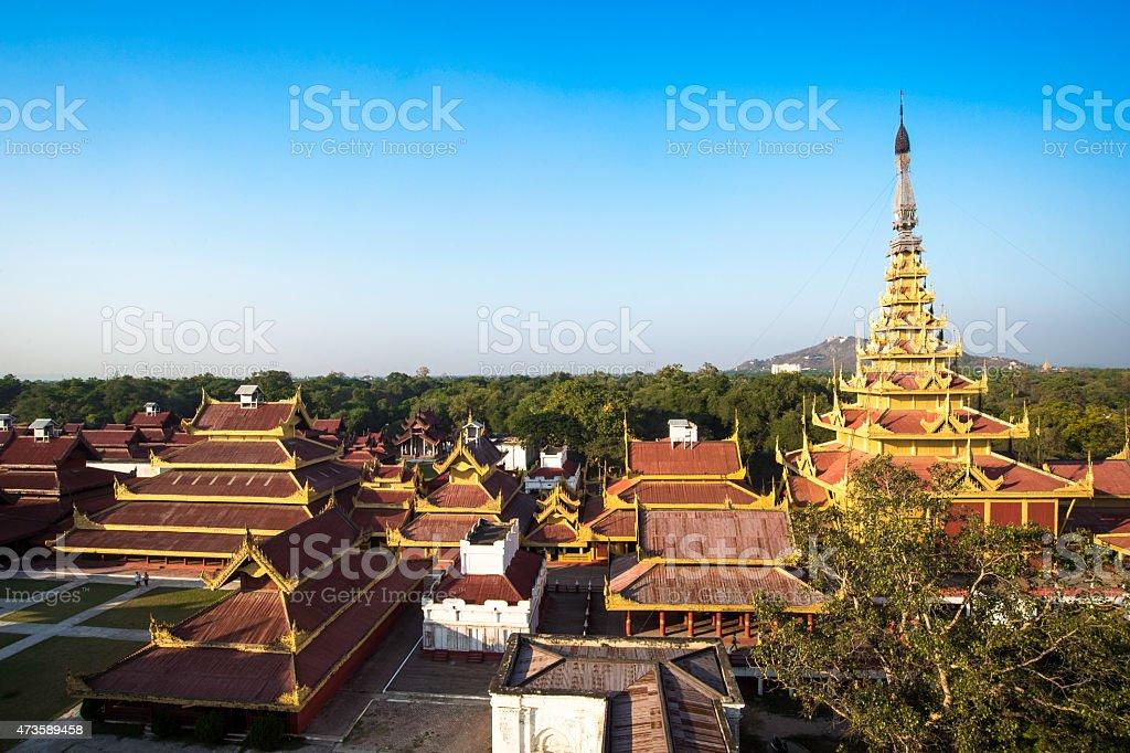 Mandalay Palace stock photo
