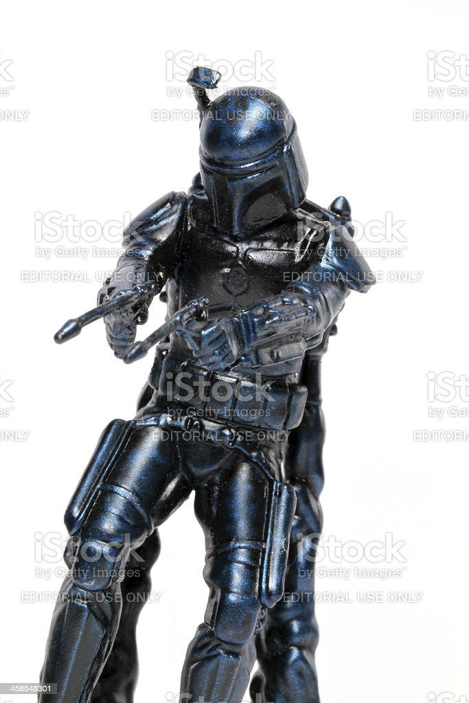 Mandalorian royalty-free stock photo