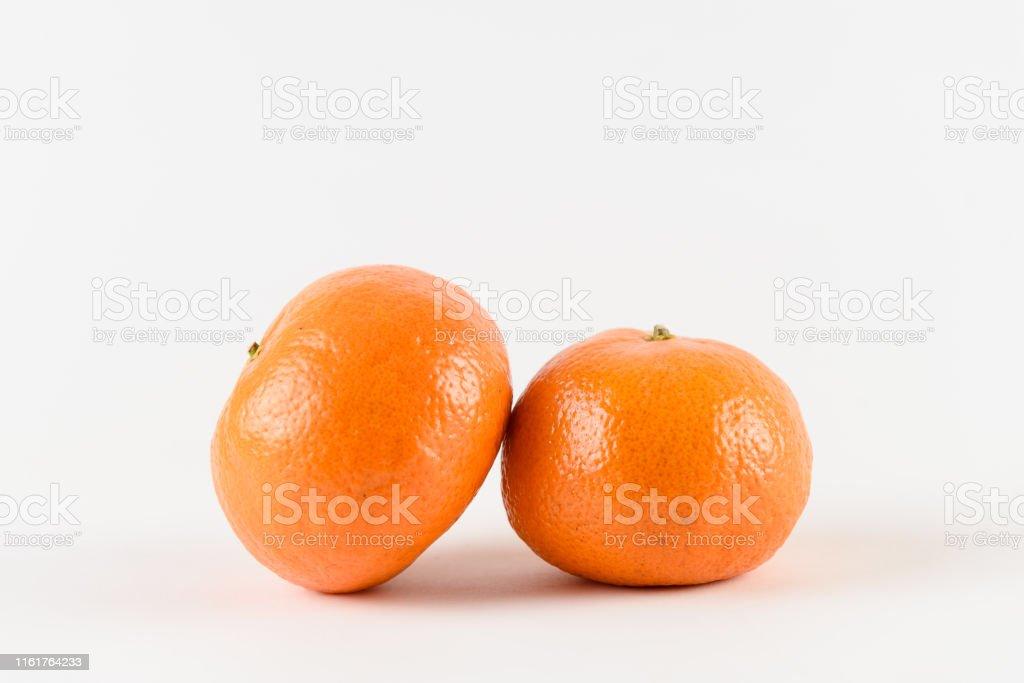 Mandarin On White Background Citrus Fruit Healthy Freshness Food Orange Fruit With Vitamin Stock Photo Download Image Now Istock