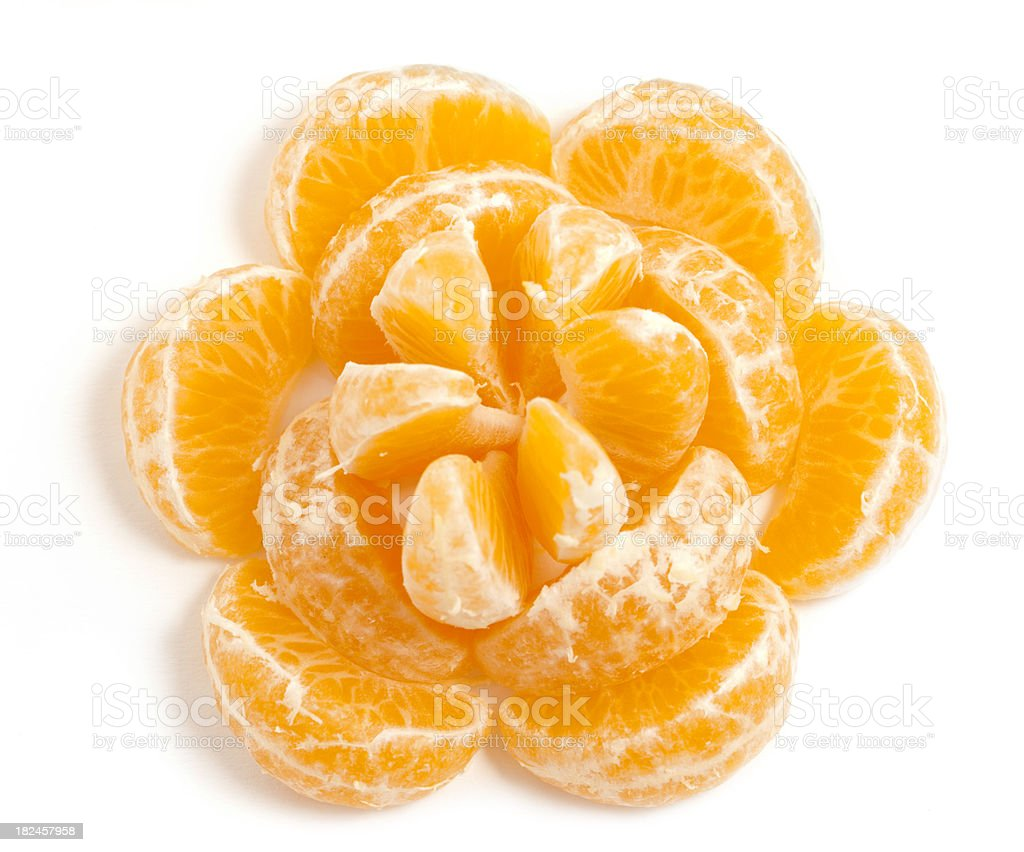 Mandarin Orange Flower royalty-free stock photo